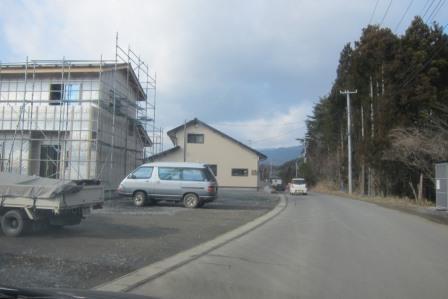 住宅建設ラッシュ